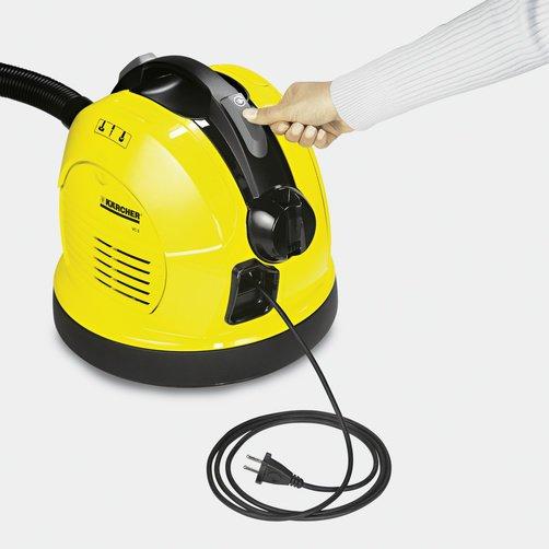 Автоматическая смотка кабеля