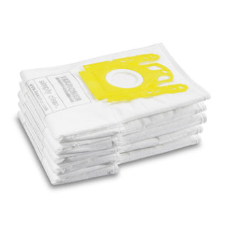 Toxunmuş materialdan olan  VC 6 üçün filtr torbaları, 5ədəd