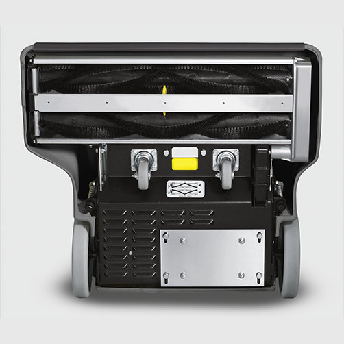 Система цилиндрических щеток встречного вращения