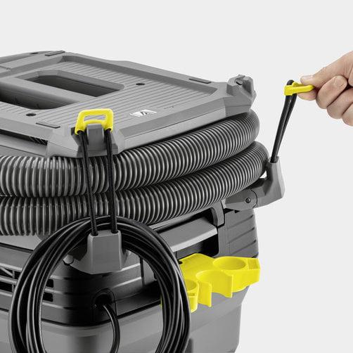 Çevik şlanq və elektrik kabelinin saxlanması