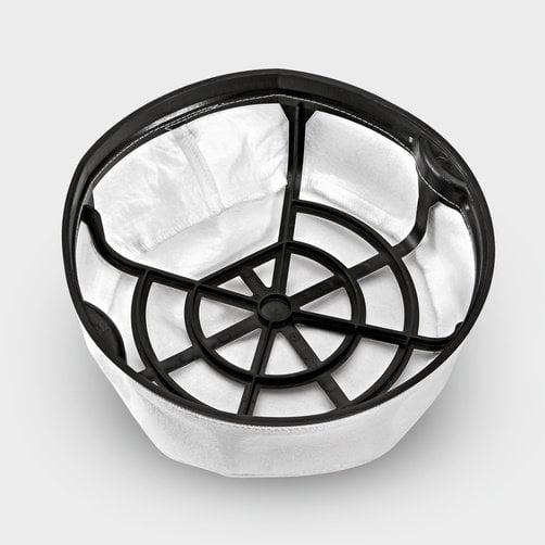 Основной корзинный фильтр для оптимального отделения пыли.