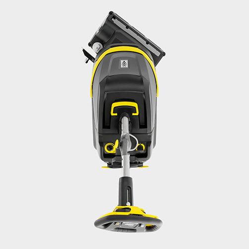 KART texnologiyası ilə +/– 200 ° fırçalı başlıq. Maşını idarə etmək üçün istifadə olunur. Sıx künclərdə nəzarət rahatlığı